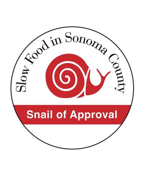 Slow Foods snail logo